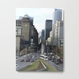 Business District Metal Print