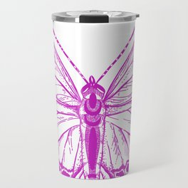 Butterfly - Violet - Beautiful - purple Travel Mug