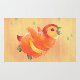 Sweeture: Peachguin Rug