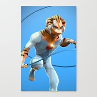 thundercats Canvas Prints featuring Thundercats by Dante RD