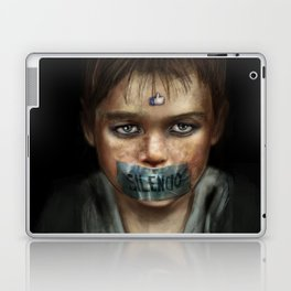 Silence Laptop & iPad Skin