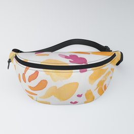 9  |  190412 Flower Abstract Watercolour Painting Fanny Pack