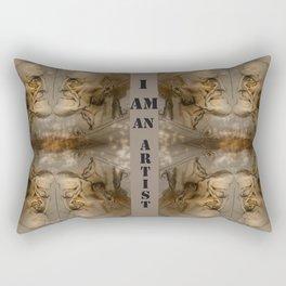 old guy Rectangular Pillow