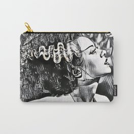 The Bride in Pen and Ink Carry-All Pouch