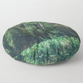 Redwood Forest  Floor Pillow