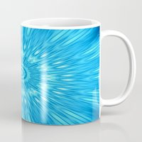 turquoise Mugs featuring turquoisE Mandala Expolosion by 2sweet4words Designs