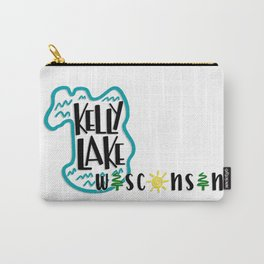 kelly lake, wi Carry-All Pouch