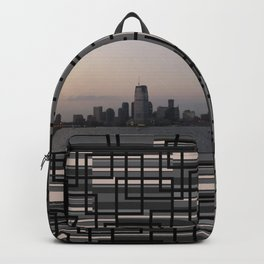 View of Colgate Center from New York Harbor Backpack