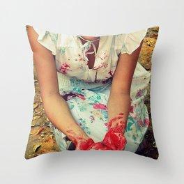 Possesion Throw Pillow