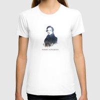 robert farkas T-shirts featuring Robert Schumann by viva la revolucion