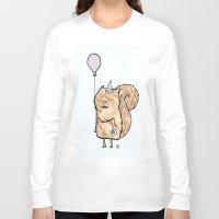 happy birthday Long Sleeve T-shirts featuring Happy Birthday! by giuditta matteucci