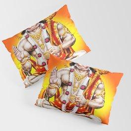 Hindu - Hanuman 2 Pillow Sham