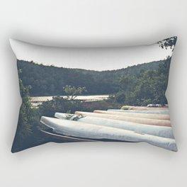 Canoes  Rectangular Pillow