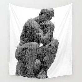 Thinking: Designed for one thing that seems such a challenge today Wall Tapestry