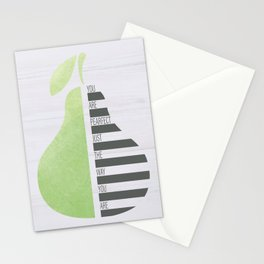 You Are Pearfect Stationery Cards