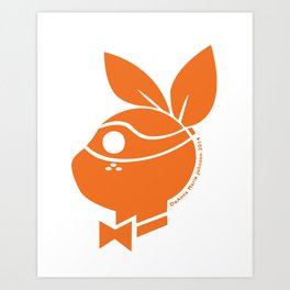 Playboy Turtle: Michelangelo Art Print