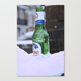 Chilled Peroni Canvas Print