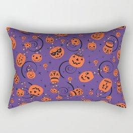 Halloween Magic- Purple Rectangular Pillow