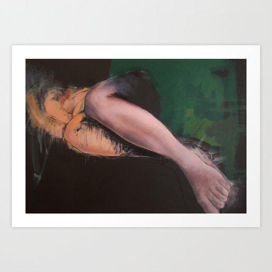 nude no 1 Art Print