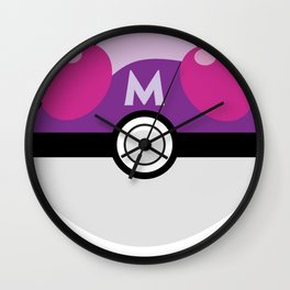 Master Pokeball Wall Clock