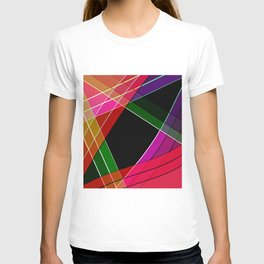Colored silk T-shirt