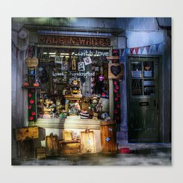 Made in Whitby Canvas Print