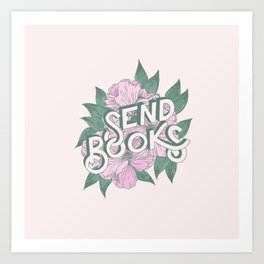 Send Books Art Print
