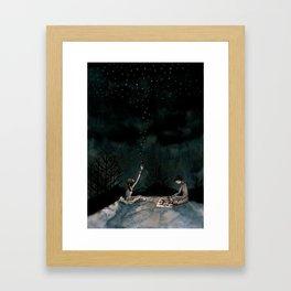 true love waits Framed Art Print