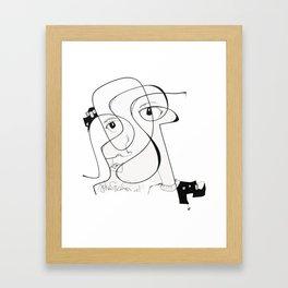 City Face [Jordan E. Eismont] Framed Art Print