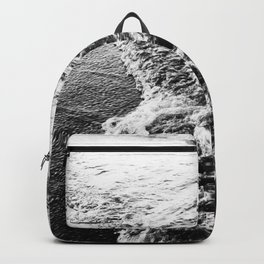 Wave and sand Backpack