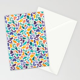 Funky Shapes Stationery Cards