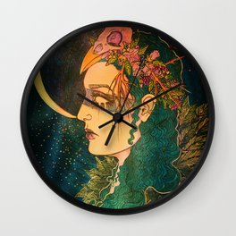 Morrigan: The Phantom Queen Wall Clock
