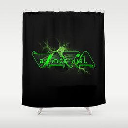 "VACA - MP: ""A Incrível Vaca"" Shower Curtain"
