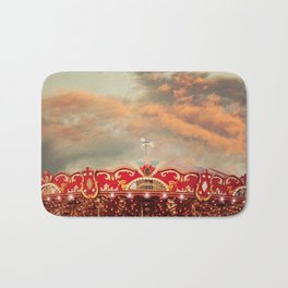 Wonderful Whirled Carousel Bath Mat