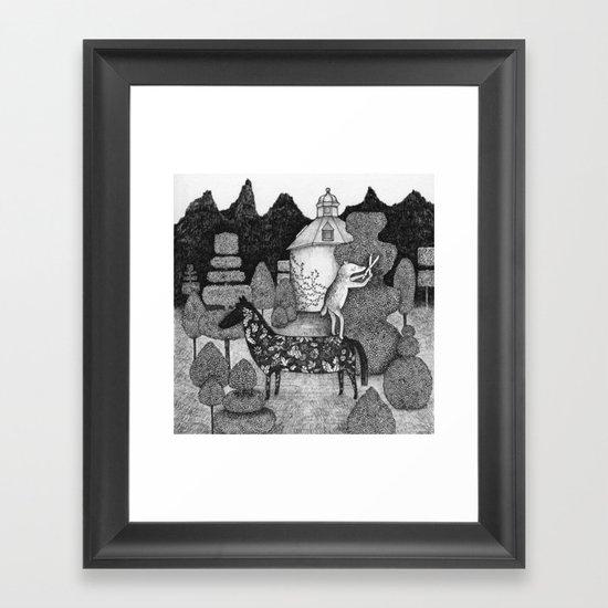 The Gardner Framed Art Print