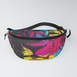 COLORED LION Fanny Pack