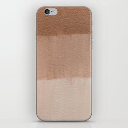 Dusty Rose Ombre iPhone Skin