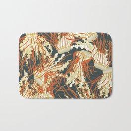 jellyfish slate Bath Mat