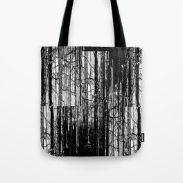 Forest Winter Pattern Tote Bag