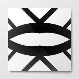 Graphic Connexion N2 Metal Print