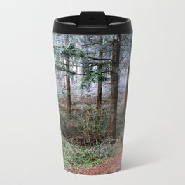the red forest crossing Metal Travel Mug