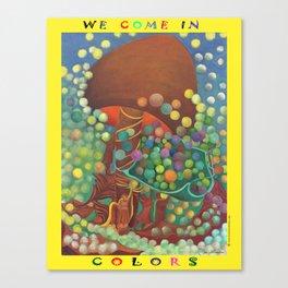 COLORS Canvas Print