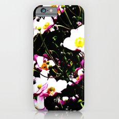 Pink Flowers (Edited)  Slim Case iPhone 6s