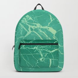 Cracked sea marble Backpack