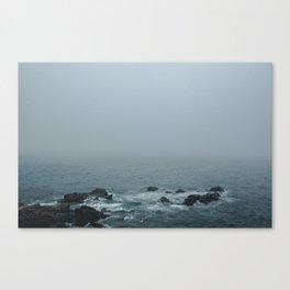 Foggy East Canvas Print