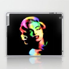 Marilyn Monroe Rainbow Colors  Laptop & iPad Skin