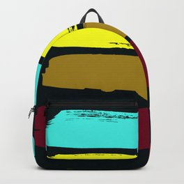 Color stripes Backpack
