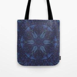 Space Age Aurora Tote Bag