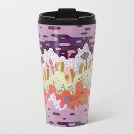 Crystal Forest Metal Travel Mug
