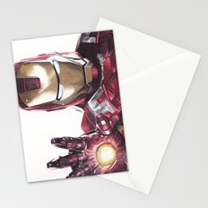 Iron Man Pen Drawing Stationery Cards